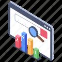 search engine analytics, search engine arranging, search engine evaluation, search engine ranking, search engine visualization
