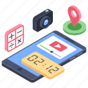 app management, app programming, digital marketing, smartphone application, software application icon