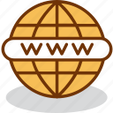 address, global, internet, network, site, web, www icon