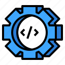 custom, demo, edit, tools icon