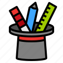 design, edit, tools, wizard icon