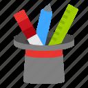 design, edit, tools, wizard icon