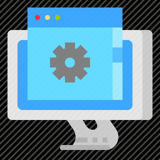 application, custom, feature, program icon
