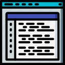 coding, computer, development, device, web icon