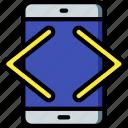 computer, development, device, html, mobile, web icon
