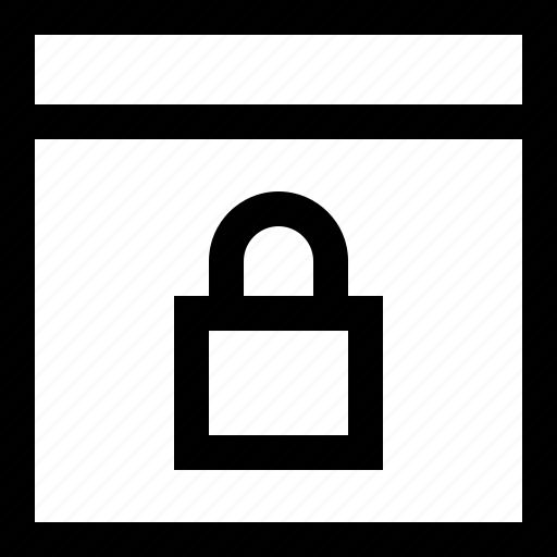 browser, code, lock, privacy, programming, security, website icon