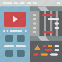 computer, development, device, tools, web icon