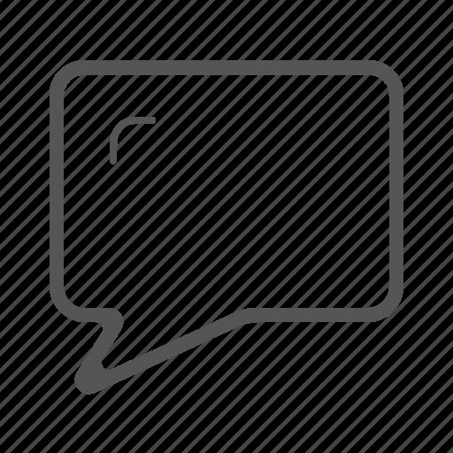bubble, chat, comment, marketing, message, talk icon