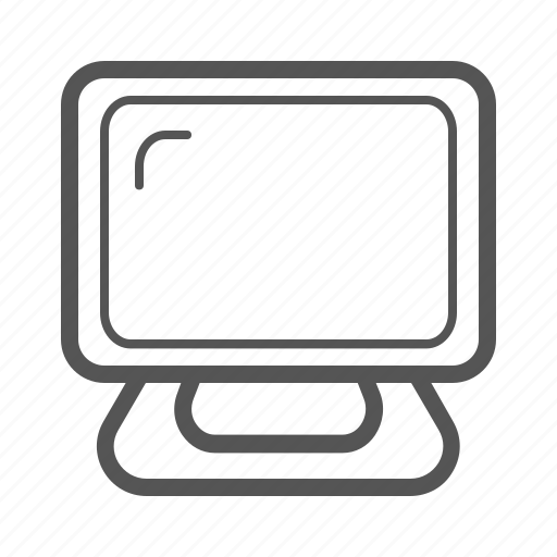 computer, device, laptop, monitor, pc, screen icon