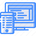 computer, development, device, optimisation, web icon
