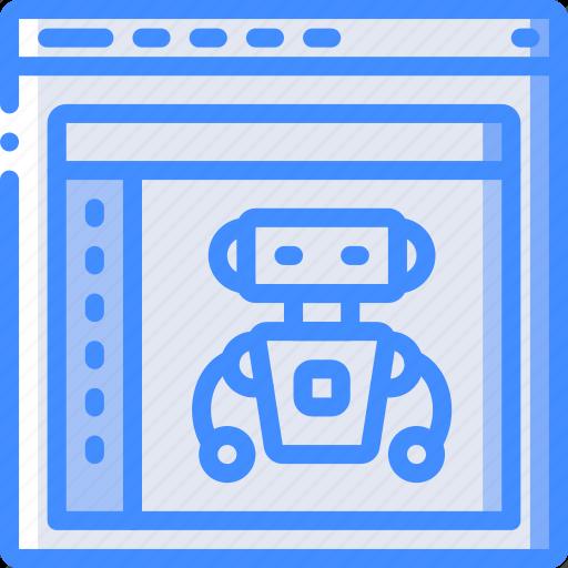 artifical, computer, development, device, inteligence, web icon