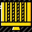 columns, computer, development, device, web icon