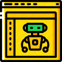 development, web, inteligence, computer, artifical, device icon