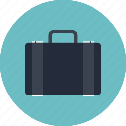 bag, baggage, brief, briefcase, business, case, documents, office, portfolio, suitcase, work icon