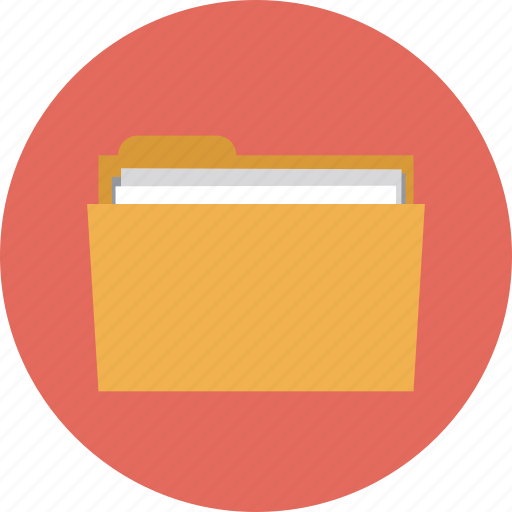 archive, business, computer, data, directory, doc, document, documents, files, folder, information, internet, office, organize, papers, project, web, work icon