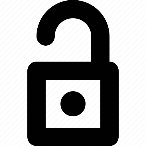 guard, lock, log off, log out, unlock, unsafe, yumminky icon