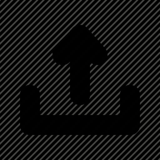 arrow, backup, drive, up, upload, uploading, yumminky icon