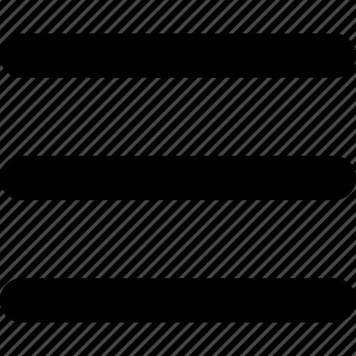 lines, menu, text, web, yumminky icon