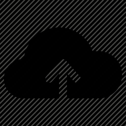 backup, cloud, repository, storage, upload, uploading, yumminky icon