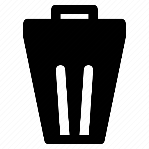 bin, can, delete, erase, remove, trash, yumminky icon