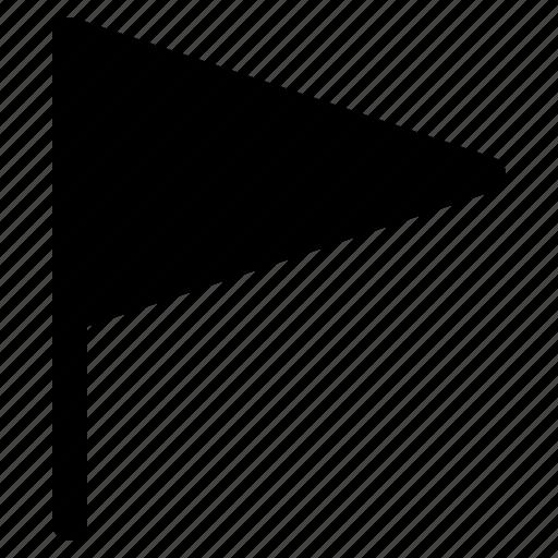 flag, map, mark, marker, pin, sign, yumminky icon