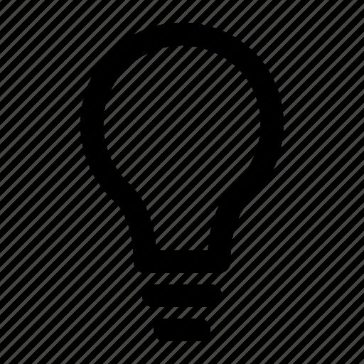 bulb, help, idea, light, note, tip, yumminky icon