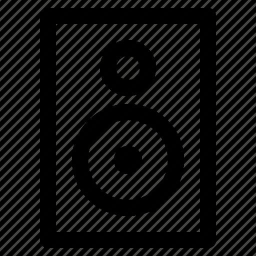 device, loud, music, sound, speaker, web, yumminky icon