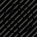 arrow, darts, focus, goal, target icon