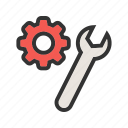 preferences, service, settings, support, system, technical, tools icon