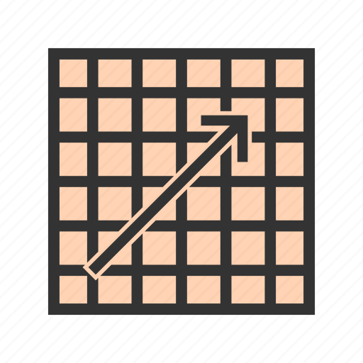 chart, diagram, graph, increase, rise, statistics, web icon