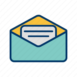 conversation, email, inbox, message icon