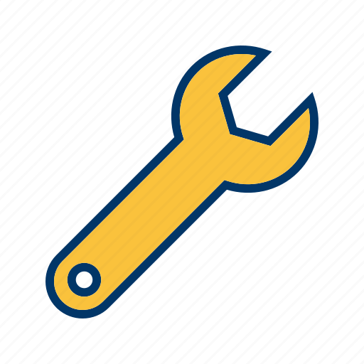 configure, options, spanner, wrench icon