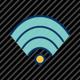 internet, network, signal, technology, wifi icon