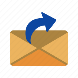 mail, message, send message icon