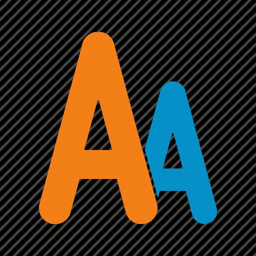 alphabet, font, text icon
