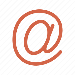 communication, email, email address icon