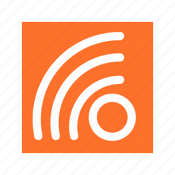 aap, blog, communication, rss feed icon