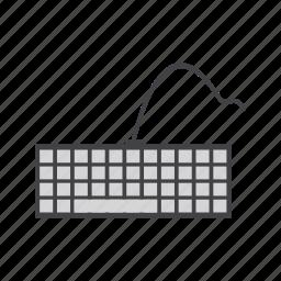 computer, device, hardware, input, keyboard, keypad icon