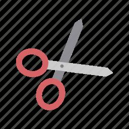 cut, cutting, design, edit, scissors, tool icon