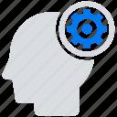 brainstorming, online, social market, web, web page icon