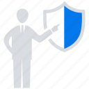 business, online, protection, social market, web, web page icon