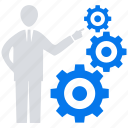 business, online, social market, solution, web, web page icon