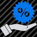discount, online, social market, web, web page icon