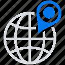 geo, online, social market, targeting, web, web page icon