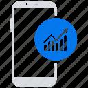 marketing, mobile, online, social market, web, web page icon