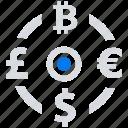 exchange, money, online, social market, web, web page icon