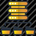 connection, data, database, server, web hosting