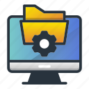 access, folder, ftp, web hosting icon