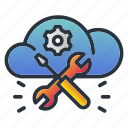 hosting, maintenance, management, repair, web hosting icon