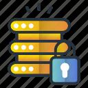 protection, security, server, serverlock, web hosting icon